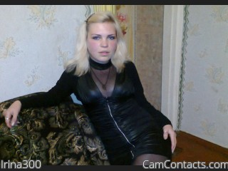 Webcam model Irina300 from CamContacts