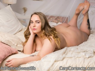 Webcam model AdrienneSweetBb from CamContacts