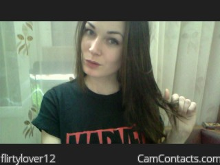 Webcam model flirtylover12 from CamContacts