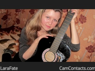 Webcam model LaraFate from CamContacts