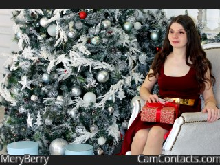 Webcam model MeryBerry from CamContacts