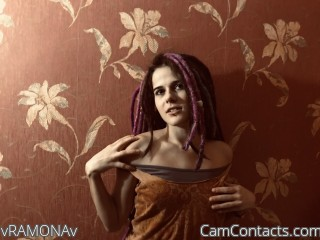 Webcam model vRAMONAv from CamContacts
