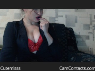 Webcam model Cutemisss from CamContacts