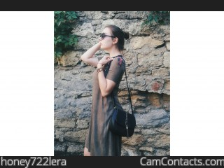 Webcam model honey722lera from CamContacts