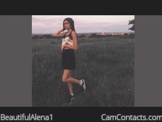 Webcam model BeautifulAlena1 from CamContacts