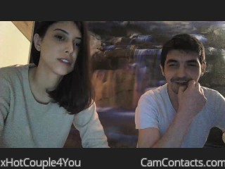 Webcam model xHotCouple4You from CamContacts