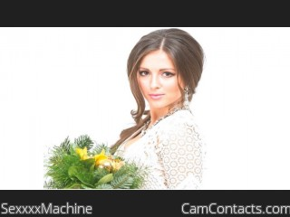 Webcam model SexxxxMachine from CamContacts