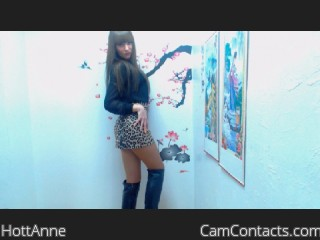 Start VIDEO CHAT with HottAnne