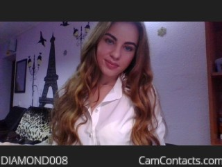 Webcam model DIAMOND008 from CamContacts