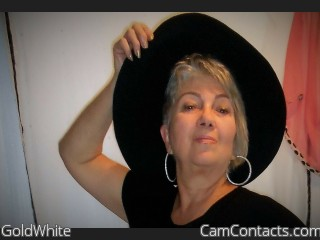 Webcam model GoldWhite from CamContacts