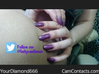 Webcam model YourDiamond666 from CamContacts