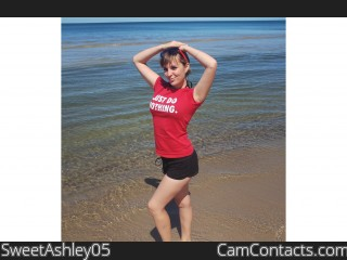 Webcam model SweetAshley05 from CamContacts