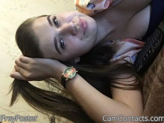 Webcam model FreyFoster from CamContacts