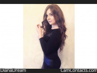 Webcam model DianaDream from CamContacts