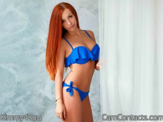 Webcam model Kimmy4You from CamContacts