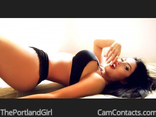 Webcam model ThePortlandGirl from CamContacts