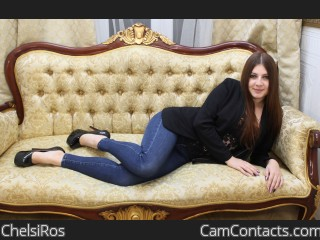Webcam model ChelsiRos from CamContacts