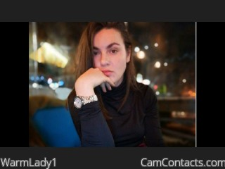 Webcam model WarmLady1 from CamContacts
