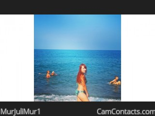 Webcam model MurJuliMur1 from CamContacts
