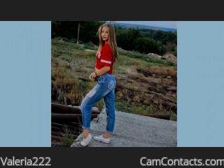 Webcam model Valeria222 from CamContacts