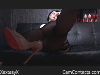 Webcam model XextasyX from CamContacts