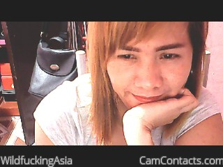 Webcam model WildfuckingAsia from CamContacts