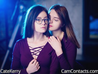 Webcam model CateKerry from CamContacts