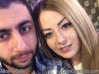 Webcam model AliceIceColin from CamContacts