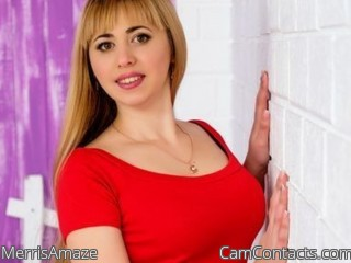 Webcam model MerrisAmaze from CamContacts