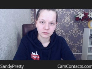 Webcam model SandyPretty from CamContacts