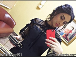 Webcam model WhiteAngel91 from CamContacts