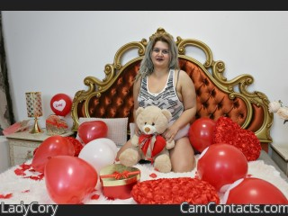 Webcam model LadyCory from CamContacts
