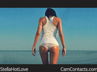 Webcam model StellaHotLove from CamContacts