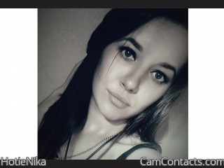 Webcam model HotieNika from CamContacts