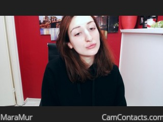 Webcam model MaraMur from CamContacts