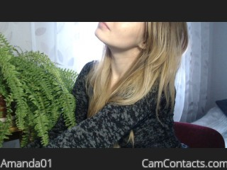 Start VIDEO CHAT with Amanda01