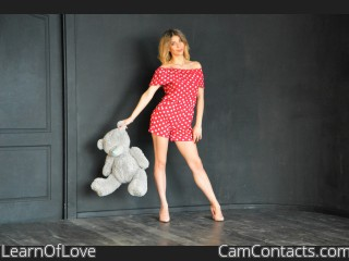 Webcam model LearnOfLove from CamContacts