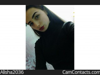 Webcam model Alisha2036 from CamContacts