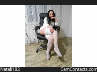 Webcam model Natali182 from CamContacts