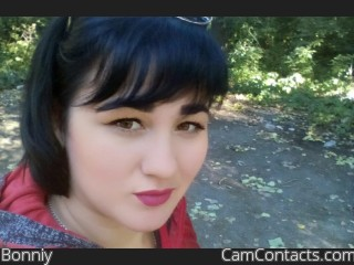 Webcam model Bonniy from CamContacts