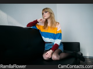 Webcam model RamilaFlower from CamContacts