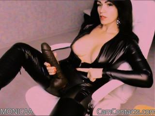 Webcam model MONICAA from CamContacts
