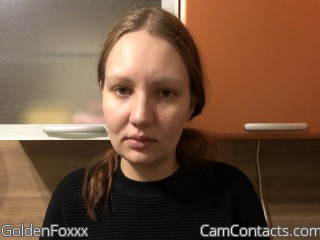 Webcam model GoldenFoxxx from CamContacts