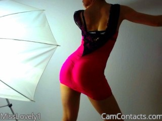 Webcam model MissLovely1 from CamContacts
