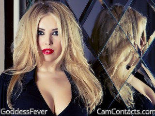 Webcam model GoddessFever from CamContacts