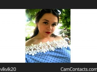 Webcam model vikvik20 from CamContacts