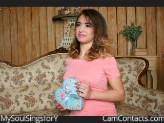 Webcam model MySoulSingsforY from CamContacts
