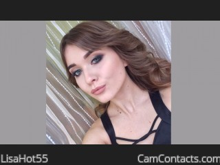 Webcam model LisaHot55 from CamContacts