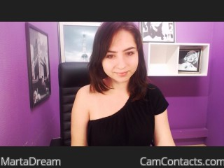 Webcam model MartaDream from CamContacts