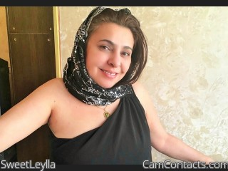 Webcam model SweetLeylla from CamContacts